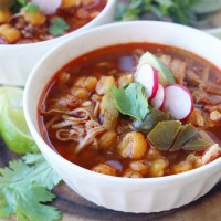 Easy Slow Cooker Pork Posole