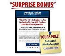 Make Money Online Squeeze Page