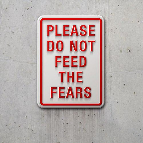 Fear Motivational Picture Quote