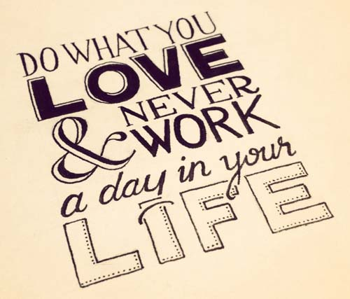 Love Life Inspiration Typography Picture Quote