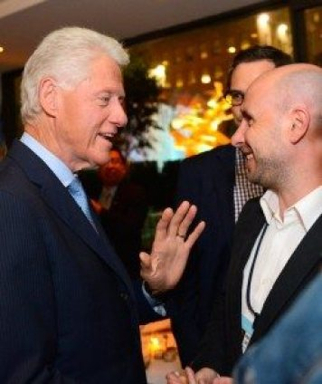 Mat Jacobson and Bill Clinton - Ducere's Vision
