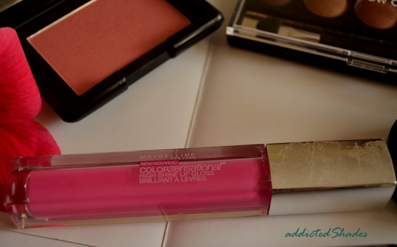 Maybelline Colorsensational High Shine Lip Gloss~Electric Shock
