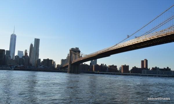 New York Skyline, Brooklyn Bridge