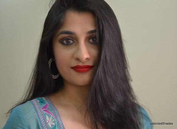 Festive Makeup Look