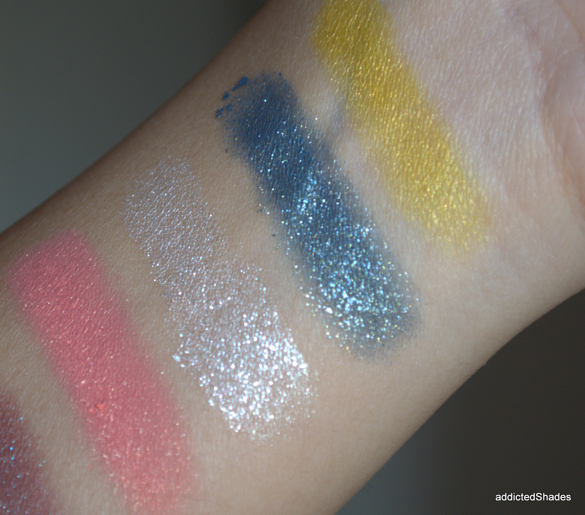 Swatches of Colourpop Eyeshadows III