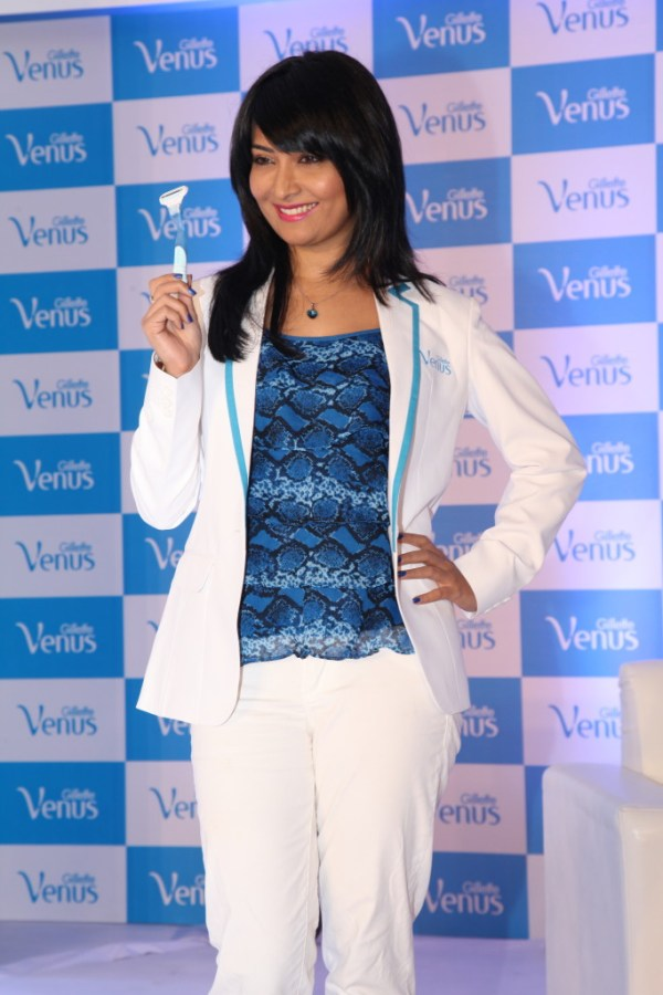 Actress Radhika Pandit at the Gillette Event