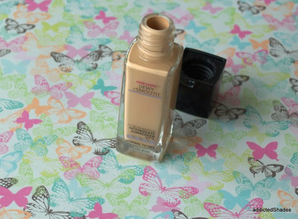 Maybelline Fit Me Dewy & Smooth foundation