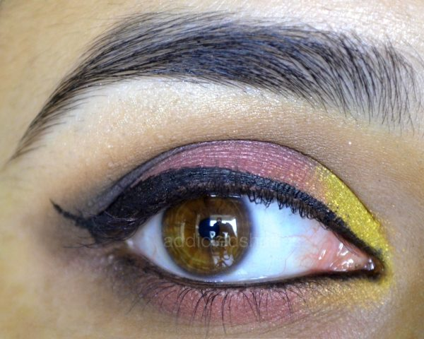 Pink Yellow Eye