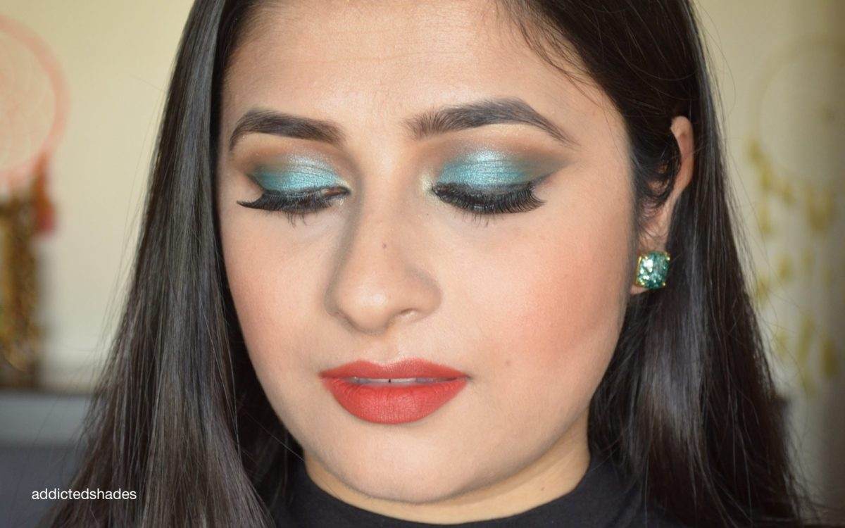 Look 2 Using Juvia's Place Masquerade Palette