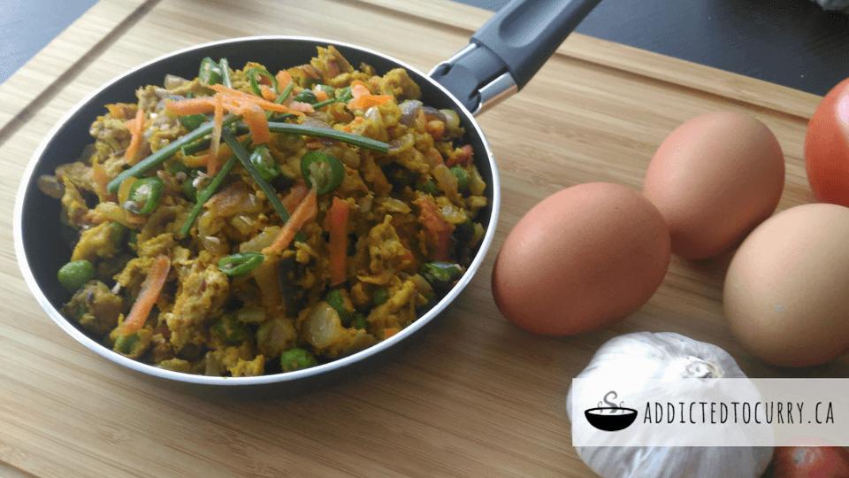Egg Bhurji – Indian Scrambled Eggs