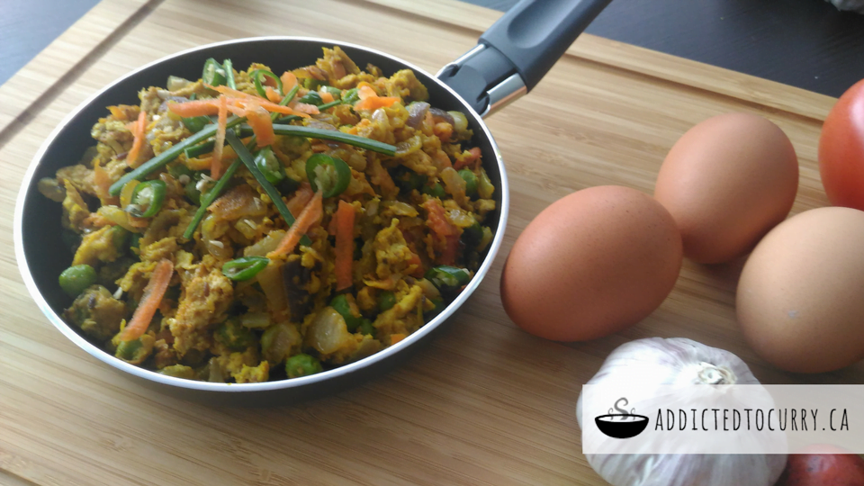 Egg Bhurji – Indian Scrambled Eggs