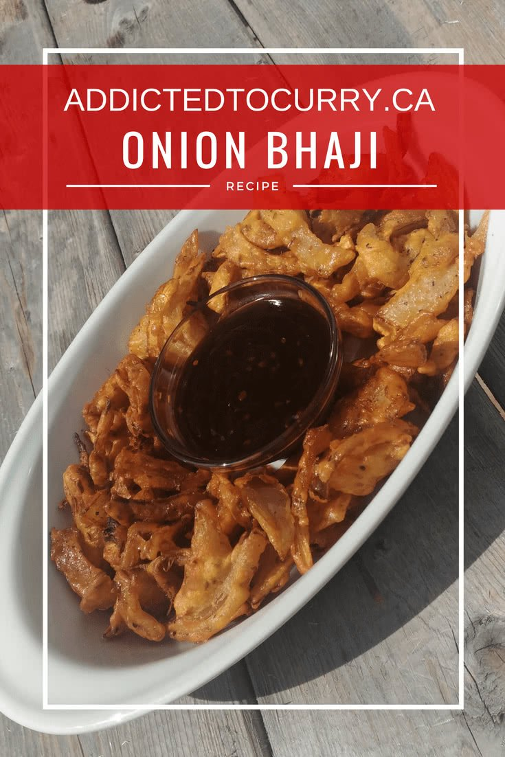 Onion Bhaji (Crunchy Onion Fritters)