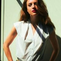 Zomers & neongeel: mouwloze blouse |patroon|