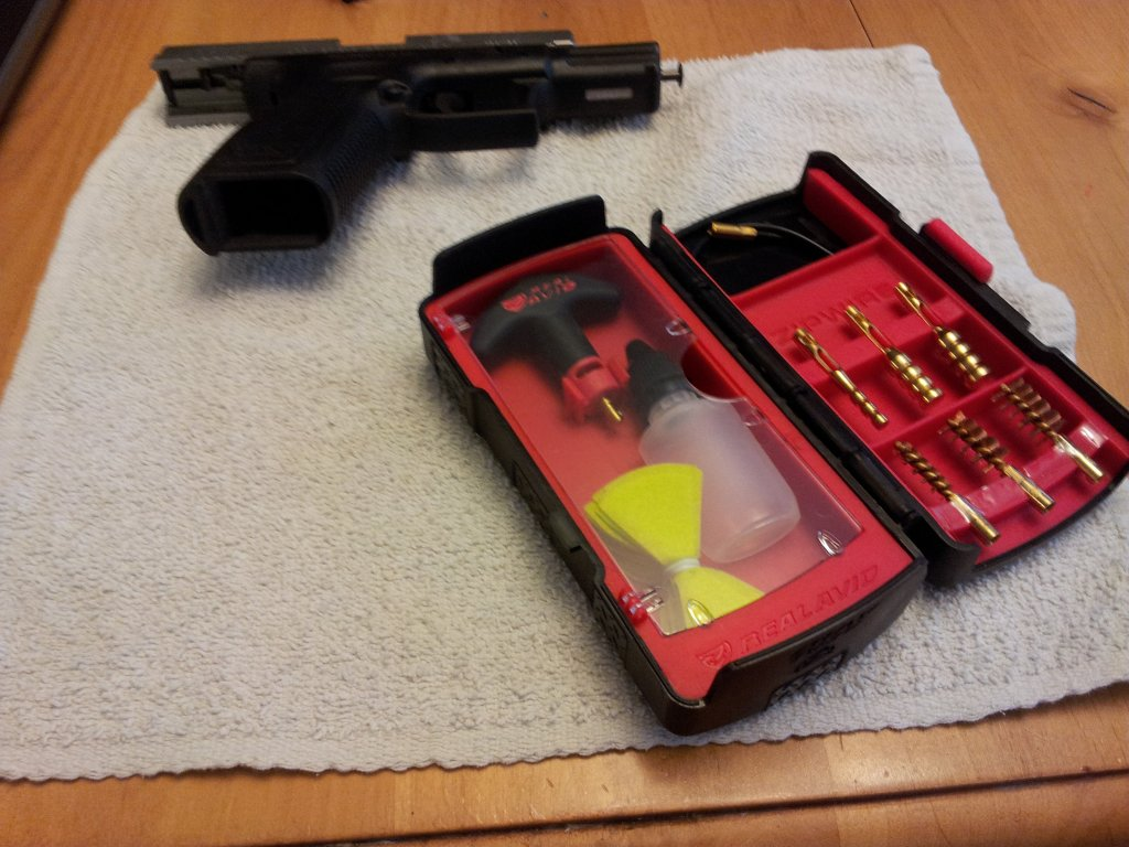 Zip Pistol Cleaning Kit
