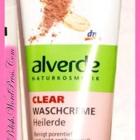 Review: Alverde Clear Washing cream Healing Soil (Waschcreme Heilerde)
