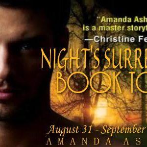 Blog Tour: Night's Surrender by Amanda Ashley