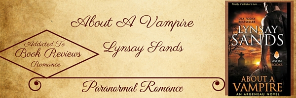 Book Review-About A Vampire