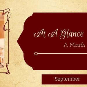At A Glance: Month of September