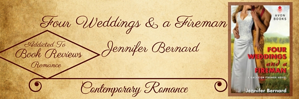 Book Review-Four Weddings and a Fireman