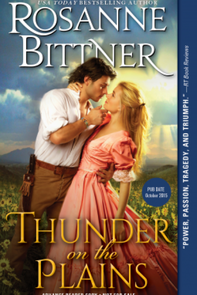 Book Review and Book Feature: Thunder on The Plains