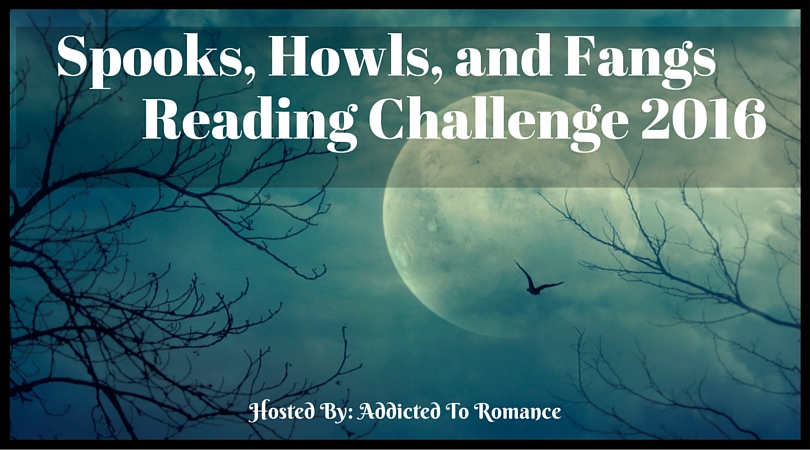 Spooks, Howls, and Fangs Reading Challenge 2016