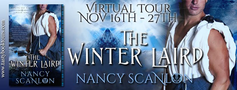 Tasty Book Tour: Review, Excerpt and Giveaway-The Winter Laird by Nancy Scanlon