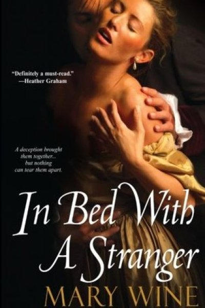 Audio Book Review-In Bed With A Stranger by Mary Wine