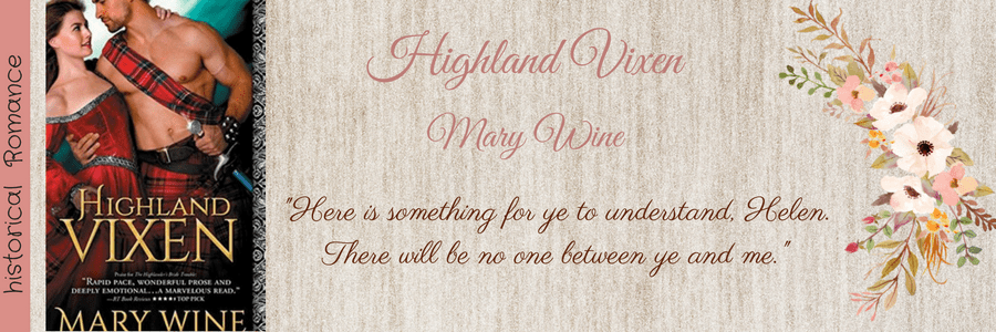 ARC Book Review-Highland Vixen by Mary Wine