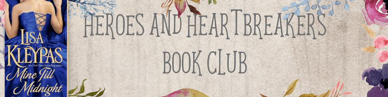Romance Book Club Questionnaire: Mine Till Midnight by Lisa Kleypas