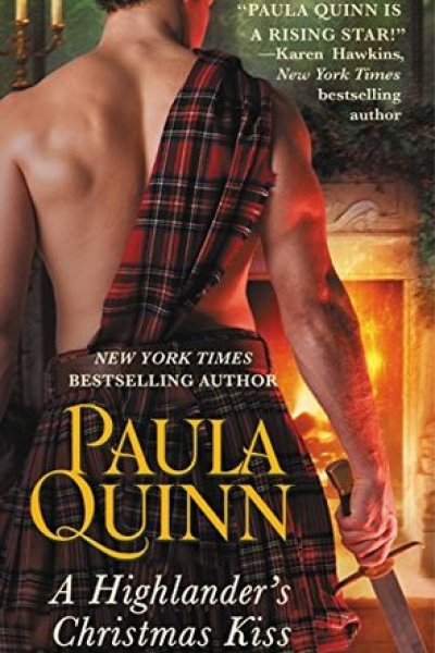 Book Review-A Highlander's Christmas Kiss by Paula Quinn