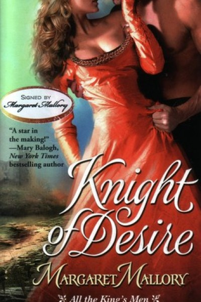 Book Review-Knight Of Desire by Margaret Mallory