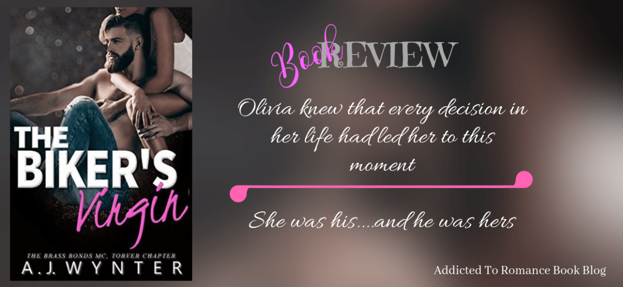 Book Review-The Biker's Virgin by A.J. Wynter