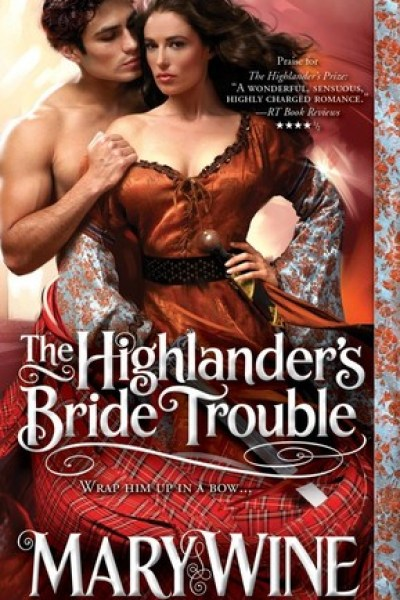 Book Review-The Highlander's Bride Trouble by Mary Wine
