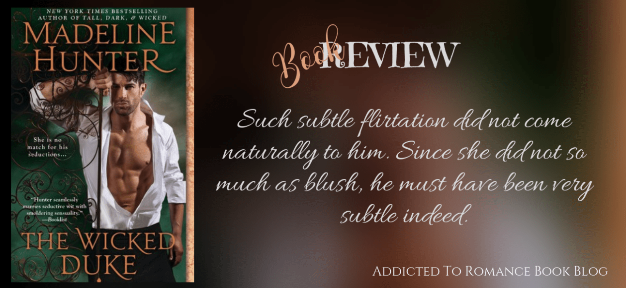 Book Review- The Wicked Duke by Madeline Hunter