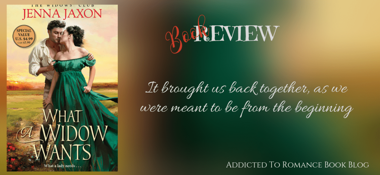 Book Review-What A Widow Wants by Janna Jaxson