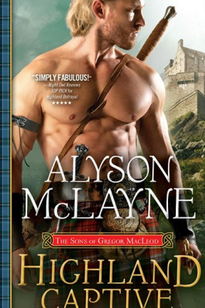 Podcast Book Review-Highland Captive by Alyson McLane