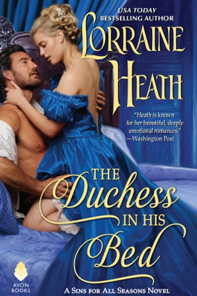 Book Review-The Duchess In His Bed by Lorraine Heath