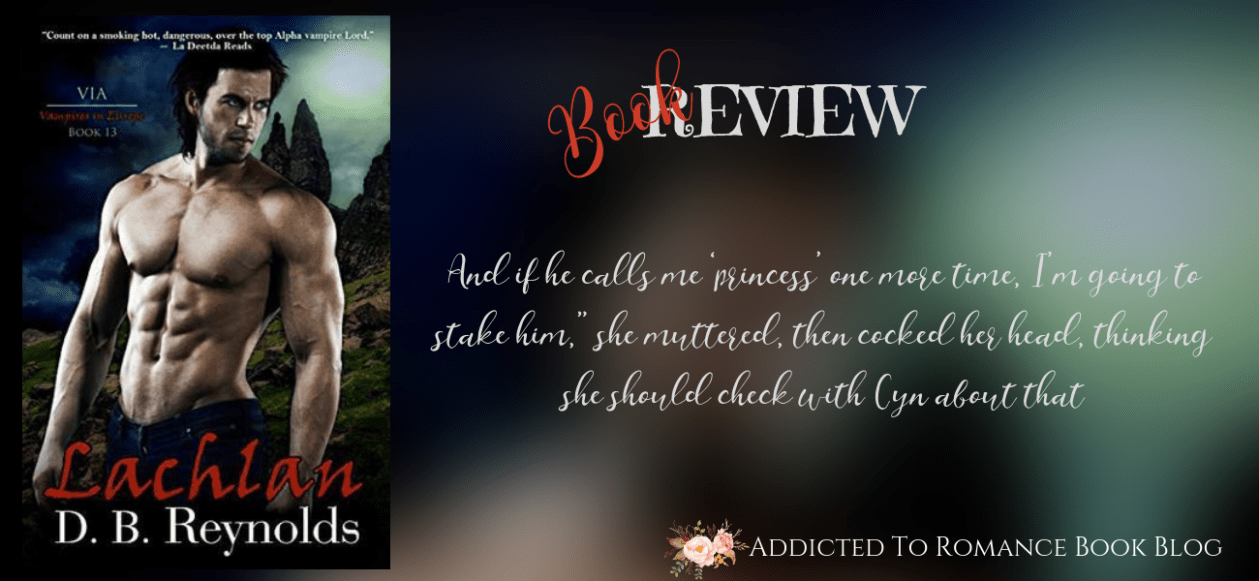 Book Review-Lachlan by D. B. Reynolds