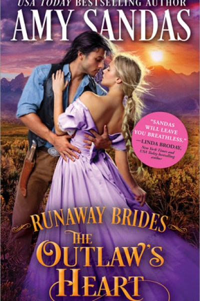 Book Review-The Outlaw's Heart by Amy Sandas