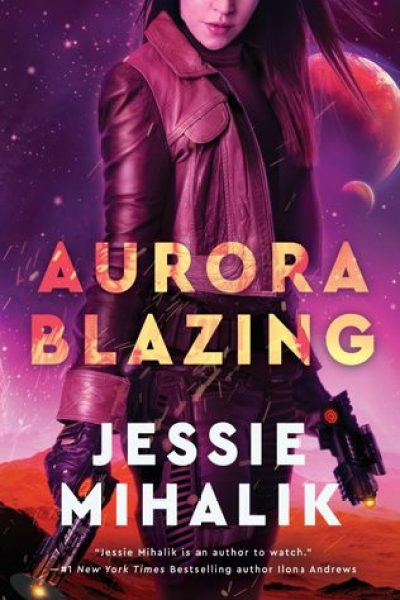 Book Review-Aurora Blazing by Jessie Mihalik
