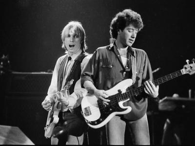 Tom Petty and Howie Epstein - credit-Steve Ringman