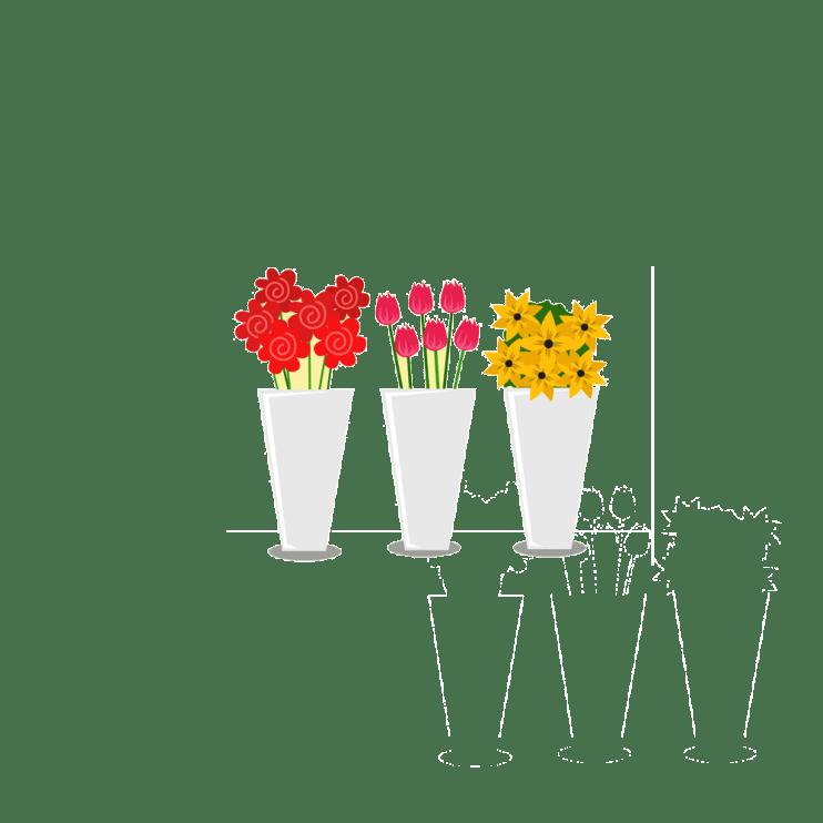 logiciel de caisse tactile sous Android dans le secteur des fleuristes