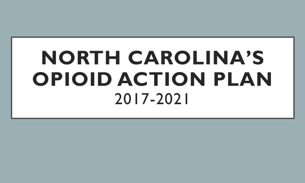 North Carolina's Opioid Action Plan