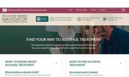 New Alcohol Treatment Navigator Website