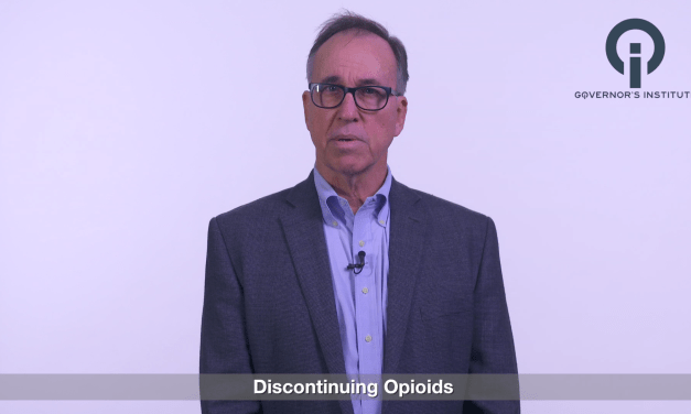 DISCONTINUING OPIOIDS: GIVING NEWS PATIENTS DON'T WANT TO HEAR