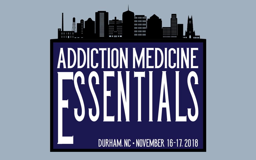 Addiction Medicine Essentials