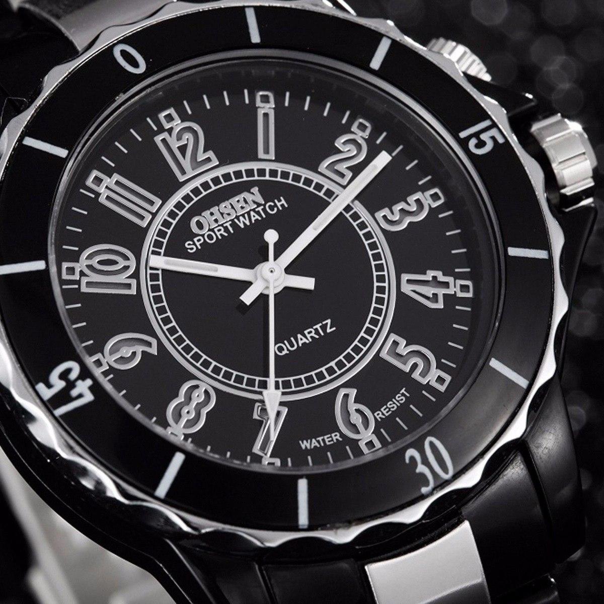 e0e1ffc6d39f Reloj Ohsen Metalico Sumergible Hasta 3 Metros