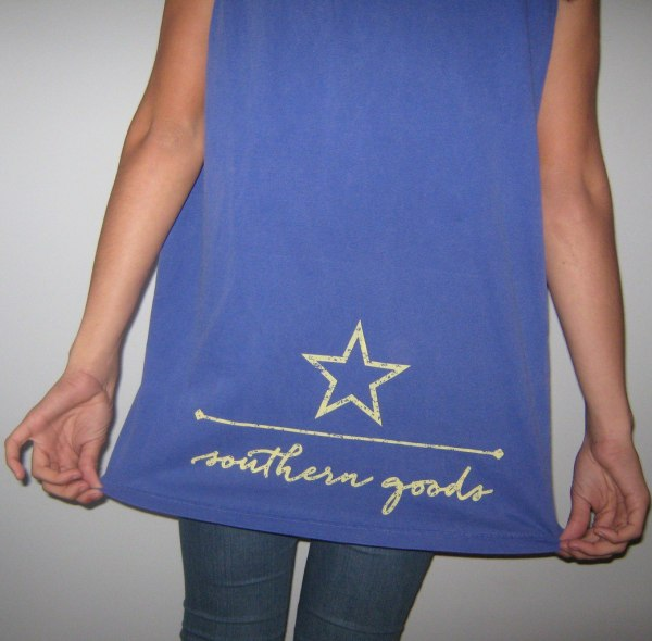 southern goods bring on the beach tee