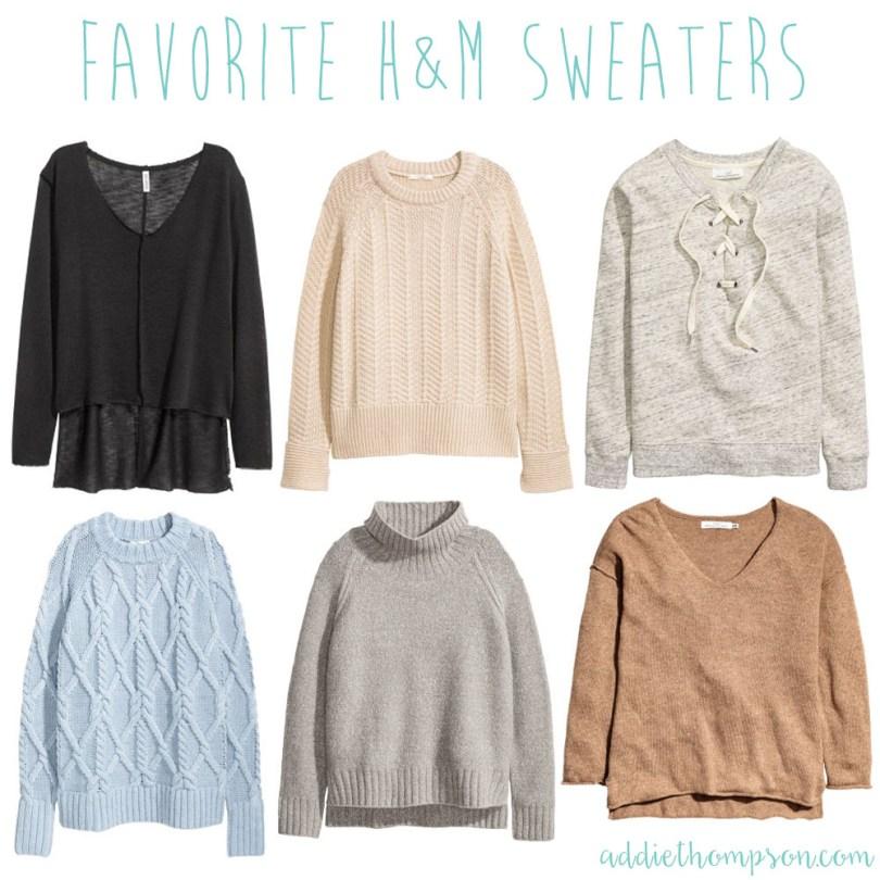 favorite hm sweaters