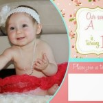 Shabby Chic First Birthday